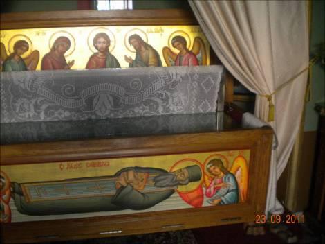 Sf Cu Sava cel Nou din Kalimnos 2 nou sf moaste