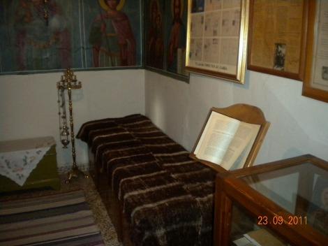 Sf Cu Sava cel Nou din Kalimnos 5 nou chilia