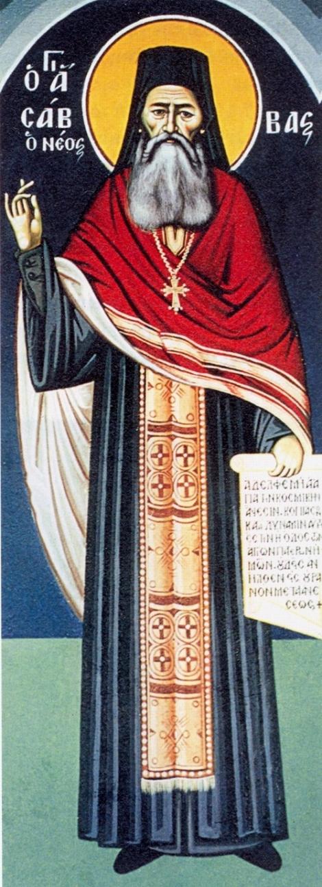 Sf Cu Sava cel Nou din Kalimnos 6 nou