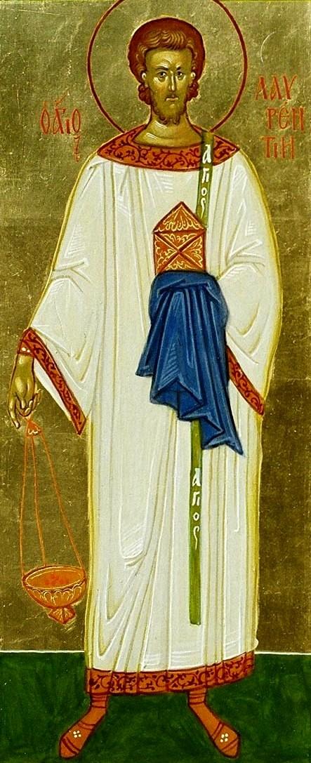 1. Sf Mc Lavrentie arhidiaconul, mucenic la Roma (258) 3.2