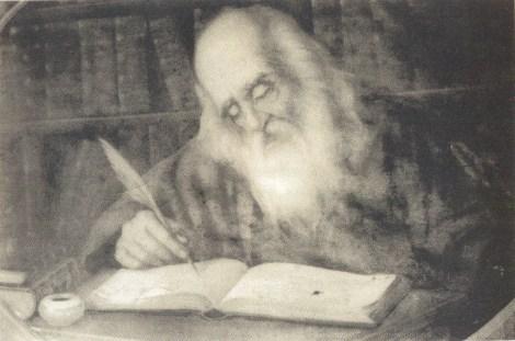 Chip al scriitorului de odinioara Sf Nicodim Aghioritul3