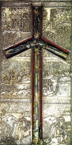 Crucea Sf Nina cea intocmai cu apostolii luminatoarea Georgiei