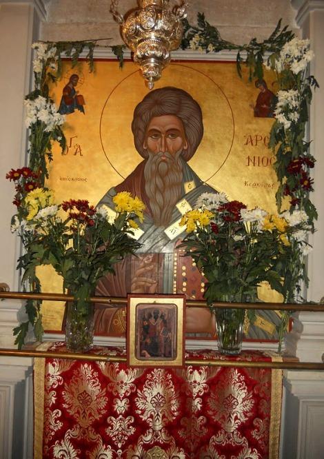 Sf Ier Arsenie, arhiep de Kerkira, insula Corfu 2.1
