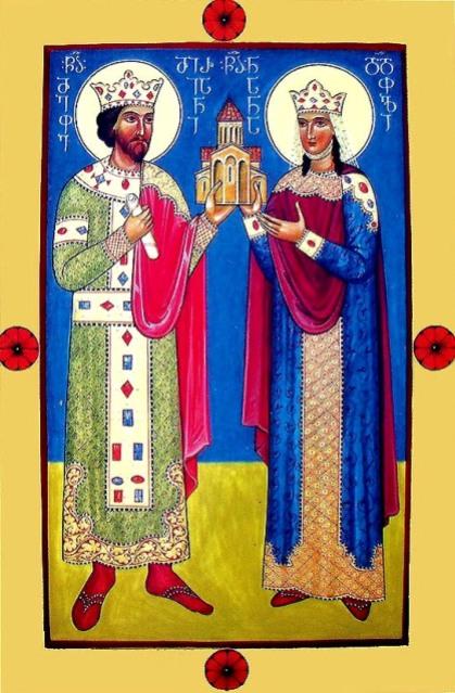 Sf imparati Mirian si Nana, intocmai cu apostolii, Georgia (1 octombrie) 1.1
