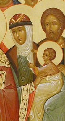Sf Mc Isidor si cei 72 impreuna cu dansul 1 mama dimpreuna cu copilul