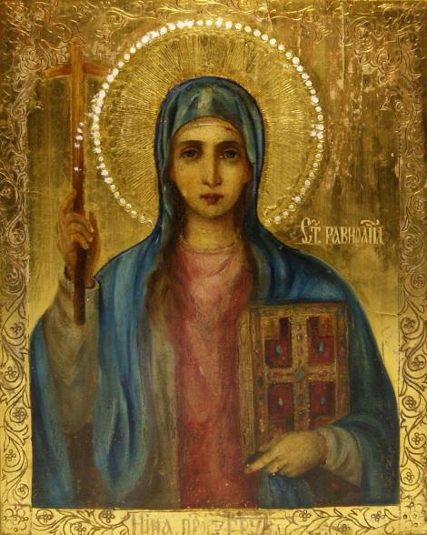 Sf Nina cea intocmai cu apostolii luminatoarea Georgiei 1.2