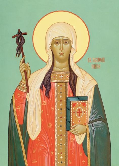 Sf Nina cea intocmai cu apostolii luminatoarea Georgiei 3