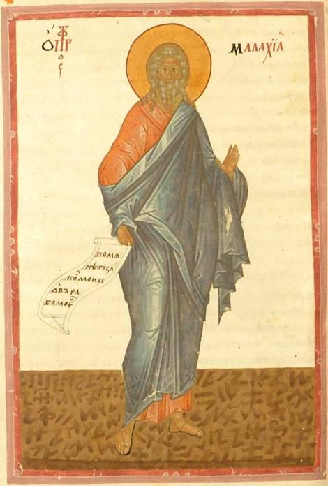 Sf Prooroc Maleahi 12.1