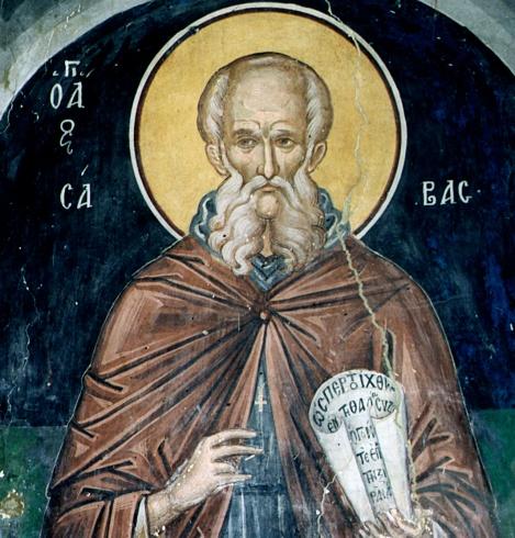 Sf Sava cel Sfintit (5 decembrie)