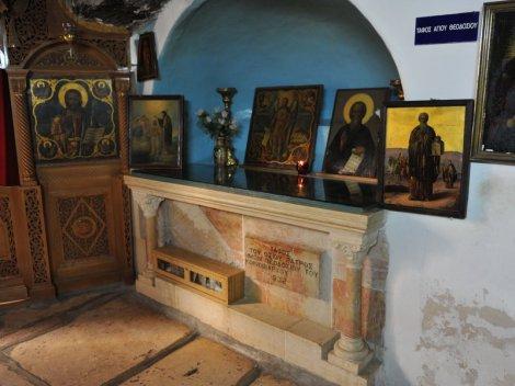 Sf Teodosie cel Mare 12 mormantul Sfantului
