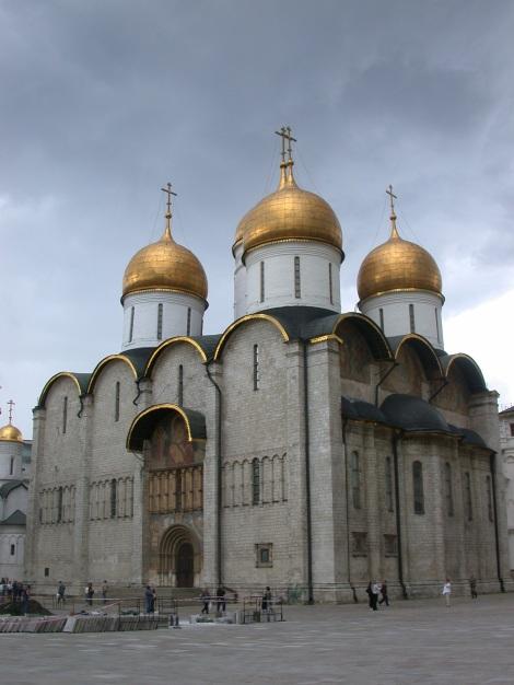 Catedrala Adormirii Maicii Domnului din Kremlin, Moscova, Rusia 1