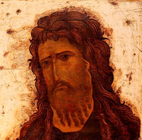 Deisis din Vladimir, sec XIII 1.4 Sf Ioan Botezatorul