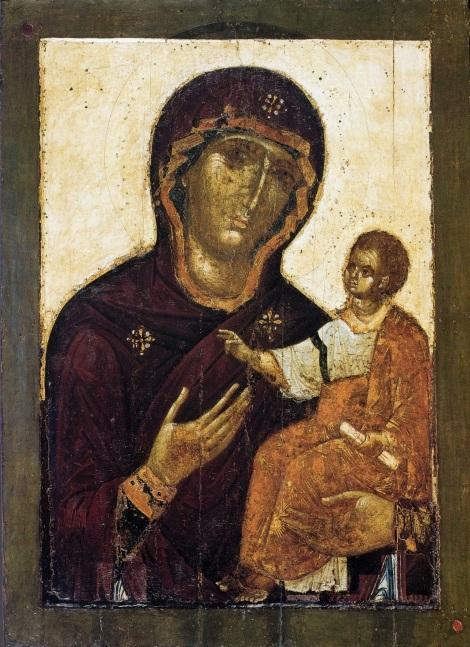 Icoana Maicii Domnului din Catedrala Adormirii Maicii Domnului din Moscova, Kremlin, Rusia 1.1