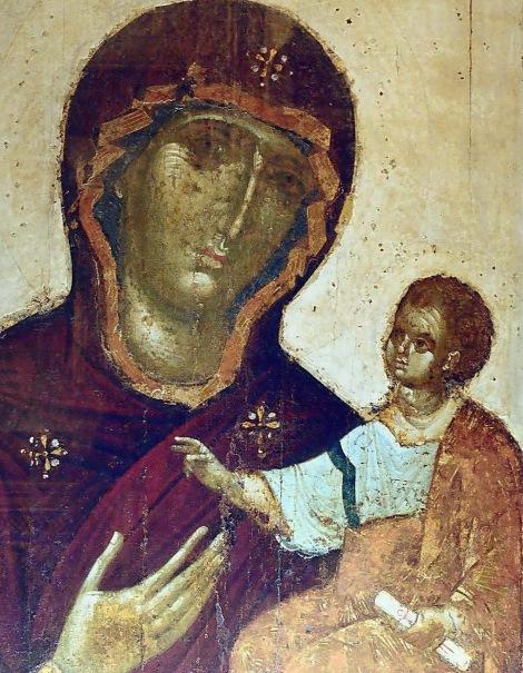 Icoana Maicii Domnului din Catedrala Adormirii Maicii Domnului din Moscova, Kremlin, Rusia 2
