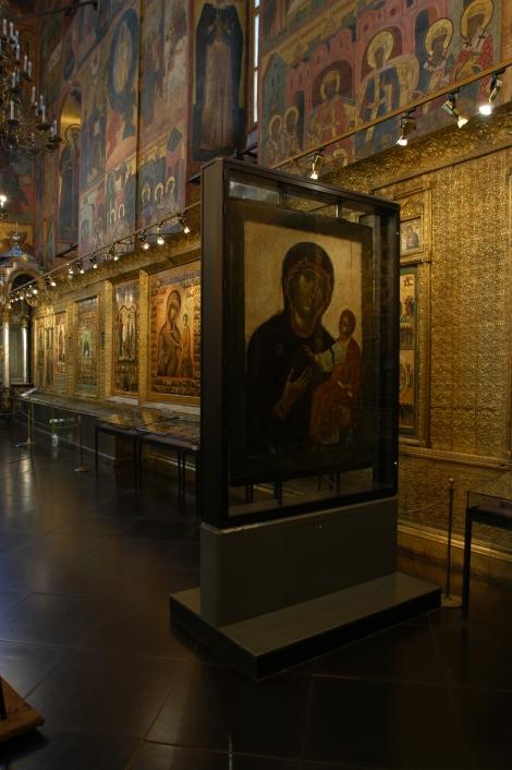 Icoana Maicii Domnului din Catedrala Adormirii Maicii Domnului din Moscova, Kremlin, Rusia 7