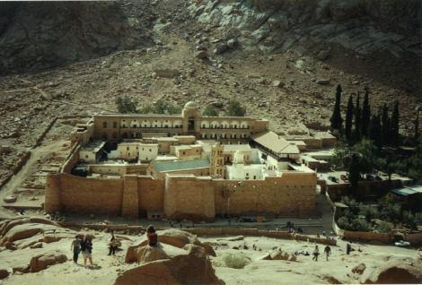 Man Sf Ecaterina din Sinai 1