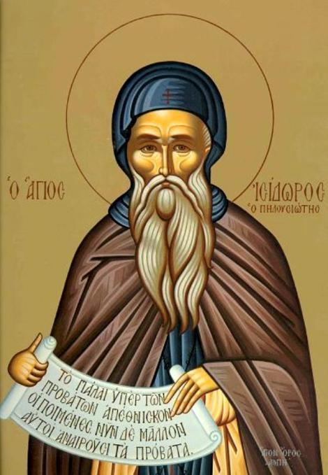 Sf Cuv Isidor Pelusiotul 4