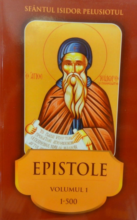 Sf Cuv Isidor Pelusiotul carte