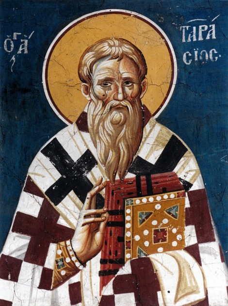Sf Ier Tarasie, patriarhul Constantinopolului 1