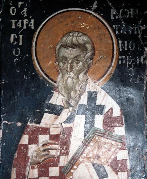 Sf Ier Tarasie, patriarhul Constantinopolului 2