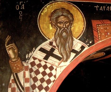 Sf Ier Tarasie, patriarhul Constantinopolului 5.1