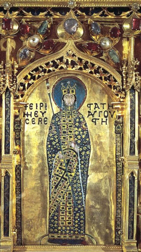 Sf imparateasa Irina 2 Pala d'Oro Altarpiece, St Mark's, Venice