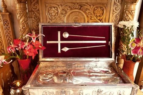 Sf Emilian din Durostorum 6 moaste