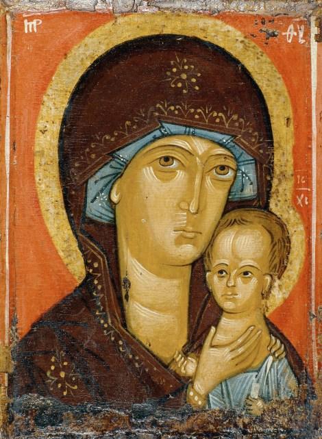 10. Icoana Maicii Domnului pictata de Sf Petru, mitropolitul Moscovei 2.1