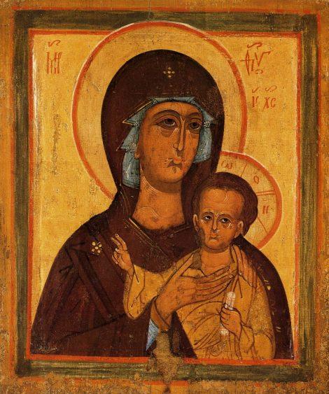 10. Icoana Maicii Domnului pictata de Sf Petru, mitropolitul Moscovei 3.1