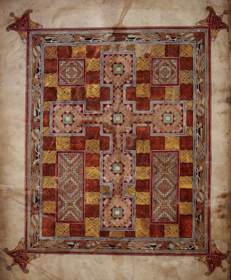 2. Scoaterea Sfintei Cruci 7 miniatura sec X din Evanghelie, Marea Britanie