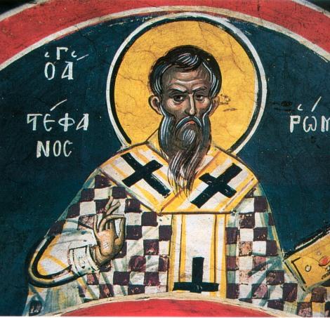 7. Sf Sf Mc Stefan, arhiepiscopul Romei (257) 2.1