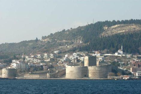 Sf Nou Mc Teodor din Ofrinion, Dardanele, Turcia (1690) Orasul Çanakkale in care a primit moartea muceniceasca