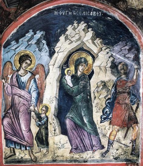 1. Sf Elisabeta, mama Sf Ioan Botezatorul (sec I) 9