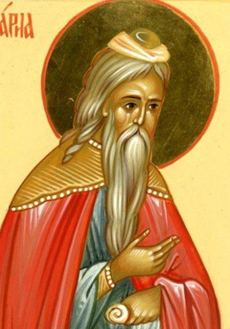 1. Sf Prooroc Zaharia, tatal Sf Ioan Botezatorul (sec I) 10.1