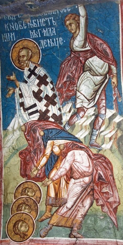 1. Sf Sf Mc Vavila, arhiepiscopul Antiohiei, si cei 3 prunci cu dansul Urban, Pridilian si Epolonion (251) 1.1