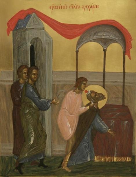 1. Sf Zaharia si Elisabeta, parintii Sf Ioan Botezatorul 10