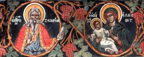 1. Sf Zaharia si Elisabeta, parintii Sf Ioan Botezatorul 17