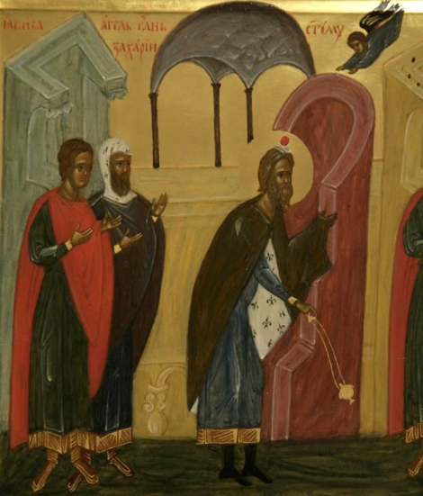 1. Sf Zaharia si Elisabeta, parintii Sf Ioan Botezatorul 5