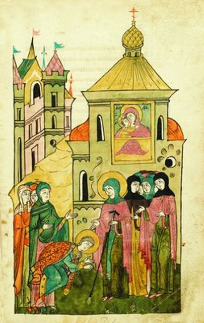 3. Adormirea Cuv Eufrosina de Suzdal (1250) 14