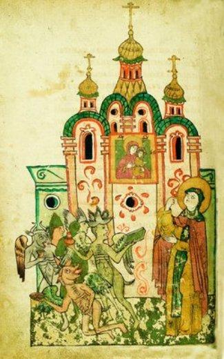 3. Adormirea Cuv Eufrosina de Suzdal (1250) 15