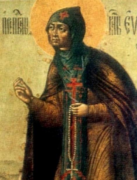 3. Adormirea Cuv Eufrosina de Suzdal (1250) 19.1