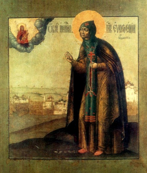 3. Adormirea Cuv Eufrosina de Suzdal (1250) 19