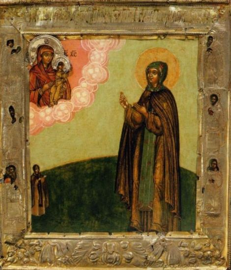 3. Adormirea Cuv Eufrosina de Suzdal (1250) 2