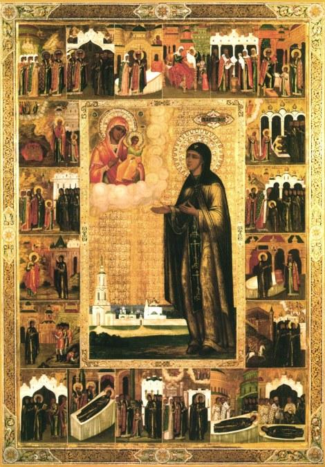 3. Adormirea Cuv Eufrosina de Suzdal (1250) 3