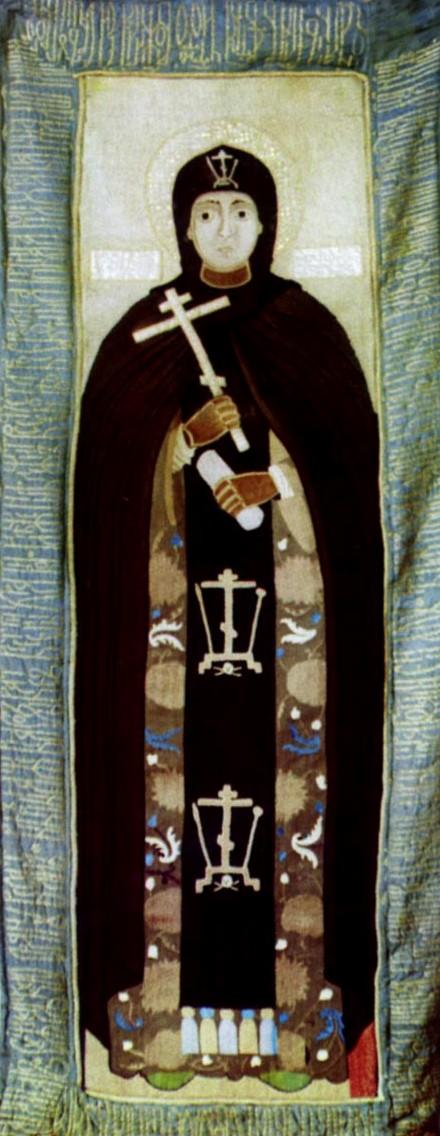 3. Adormirea Cuv Eufrosina de Suzdal (1250) 4.1