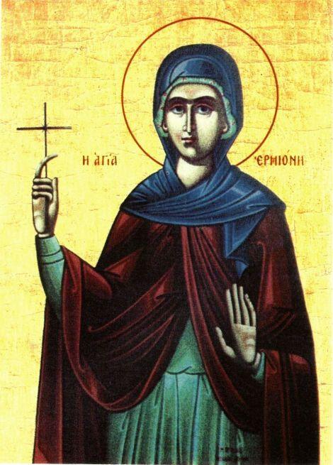 3. Sf Ermiona, fiica Sf Ap Filip (dupa 117) 7