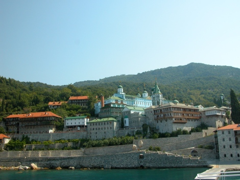 9. Man Sf Pantelimon, Sf Munte Athos, unde s-a nevoit Sf Siluan Athonitul 9