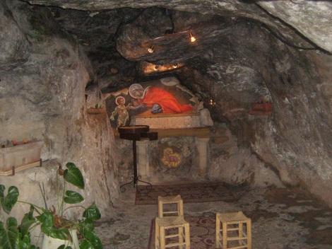 Pestera in care s-au ascuns Sf Elisabeta cu pruncul sau, Sf Ioan Botezatorul 4