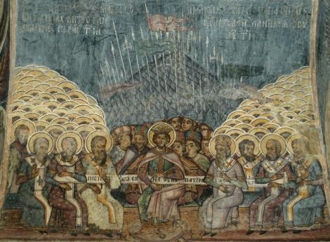 4. Sf Mc Polihronie din Constantinopol (sec IV) 1.1 Intaiul Sinod de la Niceea (325)