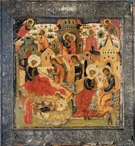 1. Zamislirea Sfintei Fecioare Maria de catre Sf Ana 1